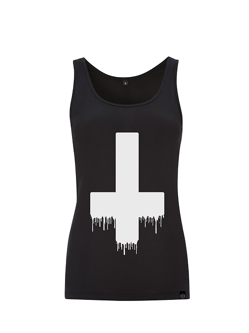 SPRAYCAN SACRILEGE - ladies fitted vest
