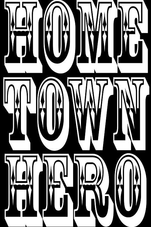 Home Town Hero - Mens Ringspun Shirt