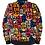 Thumbnail: POP - bespoke satin unisex bomber jacket