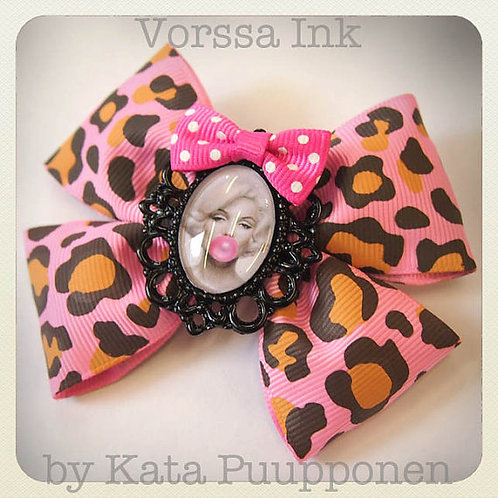 Pink Panther x Marilyn Monroe Hair Clip