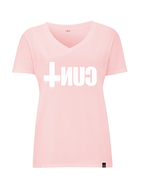 UPON REFLECTION LTD EDITION - ladies v neck shirt