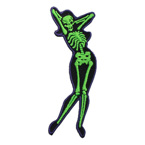 Skelli Girl Arms Patch