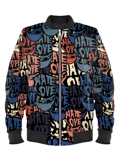 SUNSET STRIP - bespoke unisex bomber jacket