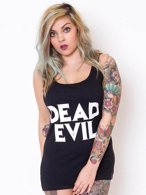 DEAD EVIL - ladies vest/unisex shirt