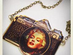 Vintage Black Camera Marilyn Monroe Pout