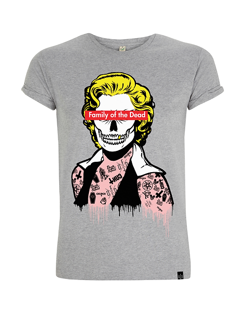 WHO KILLED MARILYN - guys/unisex fitted shirt
