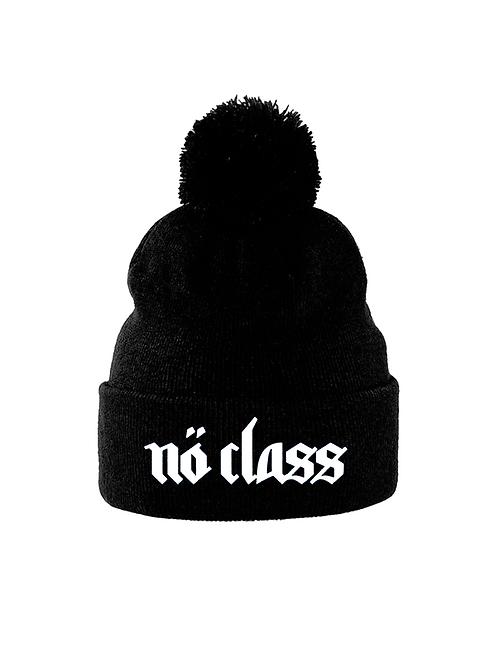 NO CLASS - Pom Pom embroidered beanie