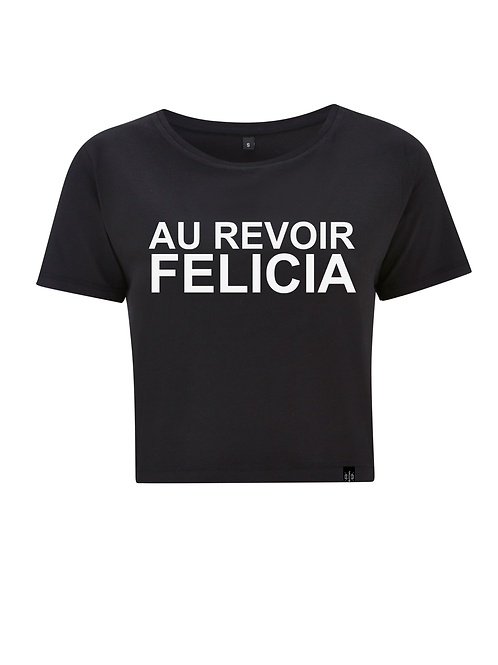 AU REVOIR - ladies crop shirt