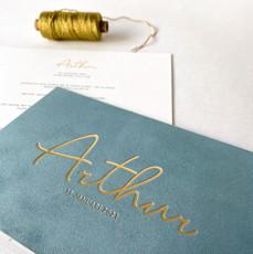 Arthur velvet uitgelijnd letterpress 002