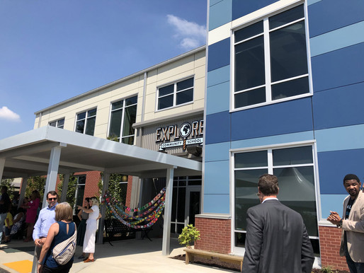 Explore! Community School Ribbon Cutting