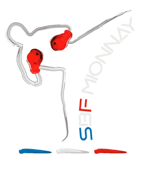 sbf mionnay- logo savate boxe fancaise