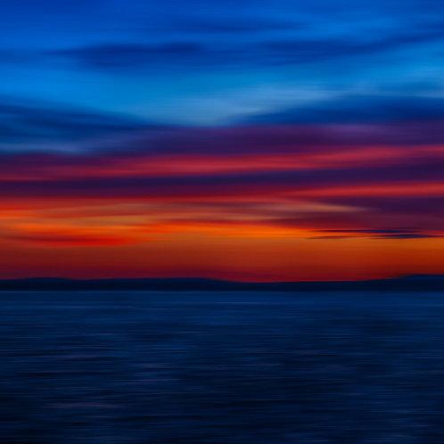 Lake House Sunset