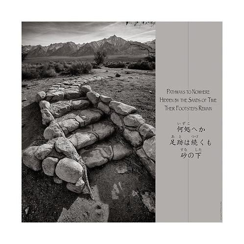Haiku Print - Steps and Path