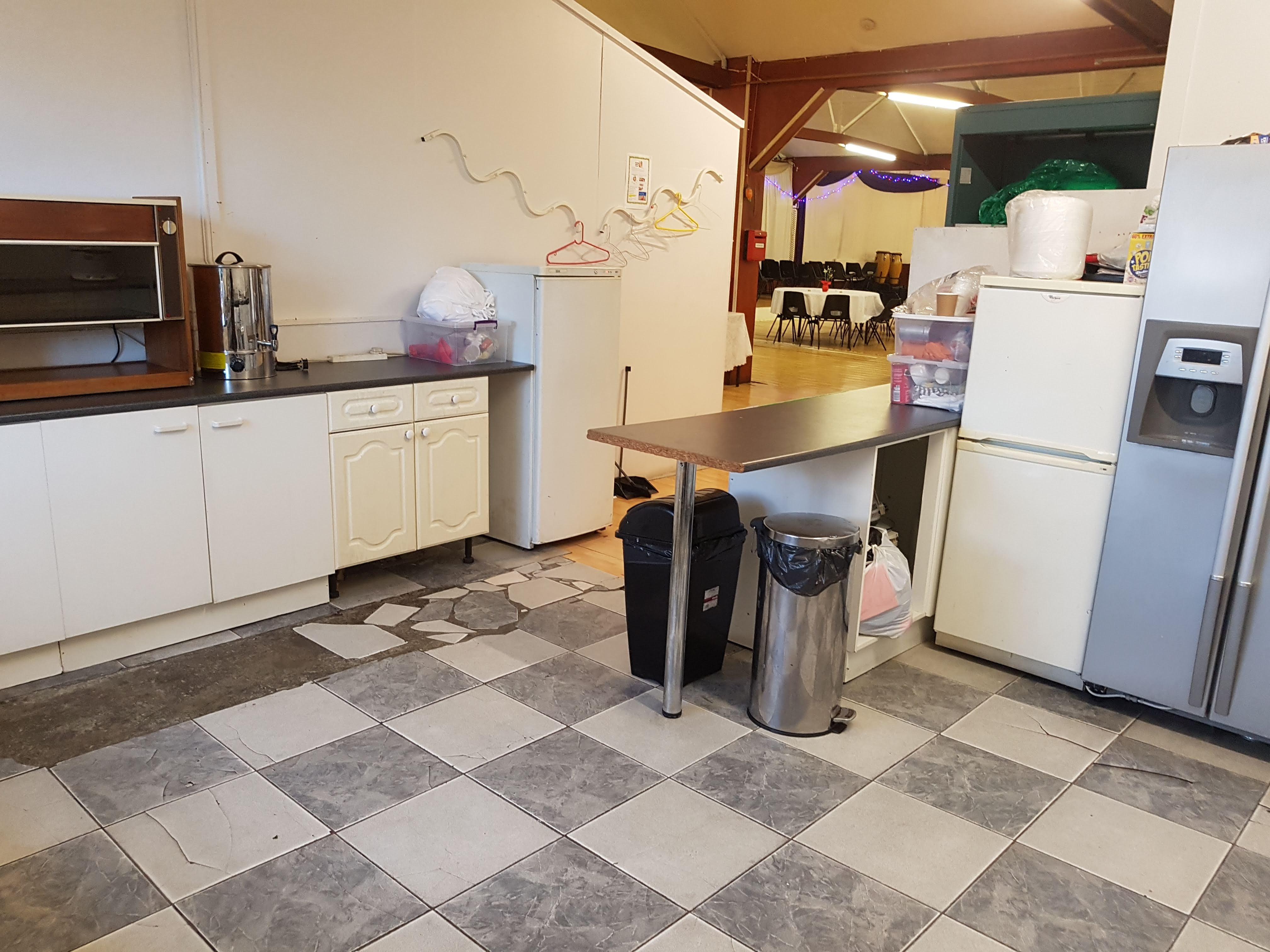 First Floor Hall Kitchen