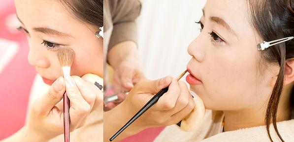 maquillaje kimono