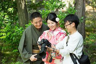 photos extérieur kyoto yumeyakata kimono gion arashiyama sakura automne
