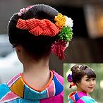 일본머리, 기모노머리