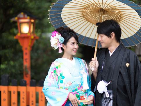 婚礼ロケフォト 祇園