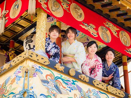 元舞妓・紅子先生と巡る 祇園祭特別ツアー【前祭編】