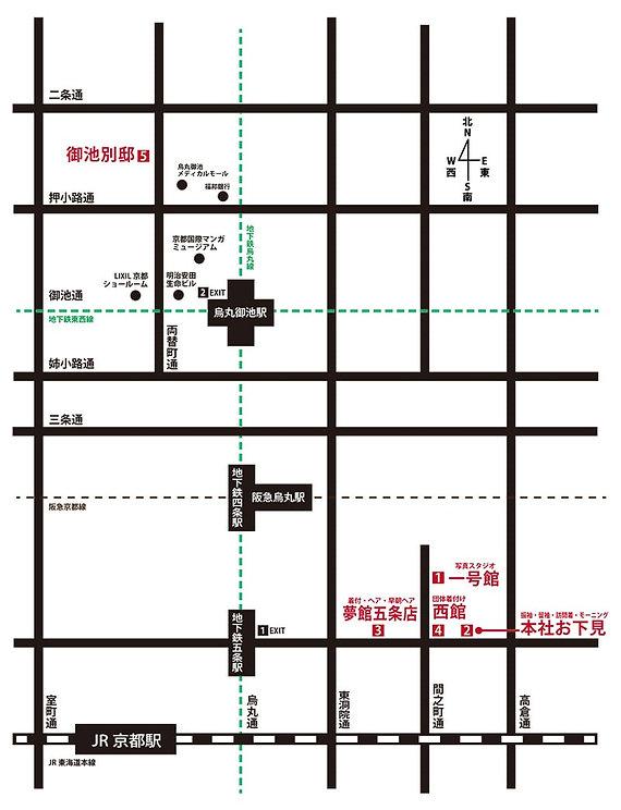御池別邸地図