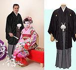 男性紋付袴オプション
