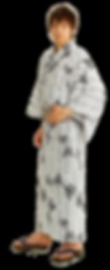 夢館の男性浴衣