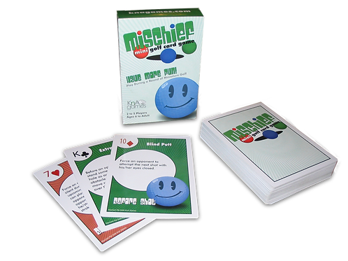 Mischief Mini Golf Card Game