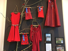 ReDress display at Calgary Board of Education Central Offices (downtown Calgary, fall 2017)
