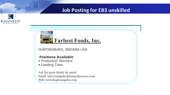 Job openings in Farbest Food in IN. (Fully filled as of Sep 2019)