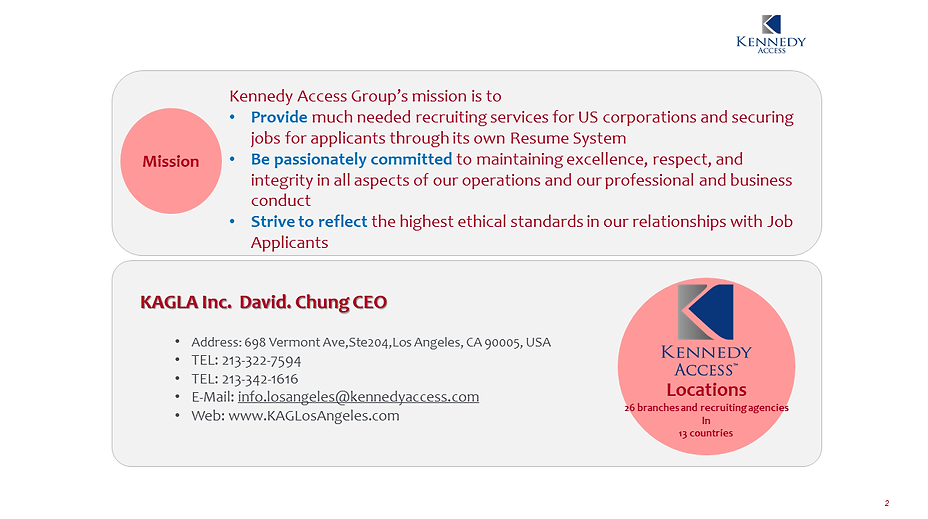 Immigration | United States | Kennedy Access Group Los Angeles