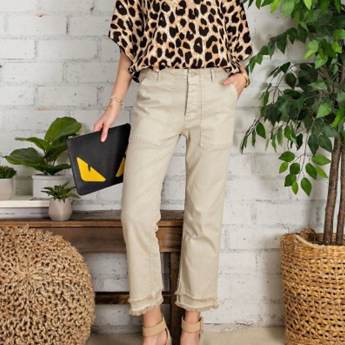 Simply & Slouchy Carnaby Twill Cargo Pants