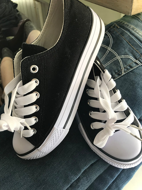 LowTop Lace Up Casual Sneakers