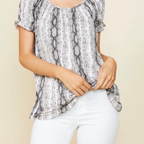 Relaxed Easy Fit Summer Blouse