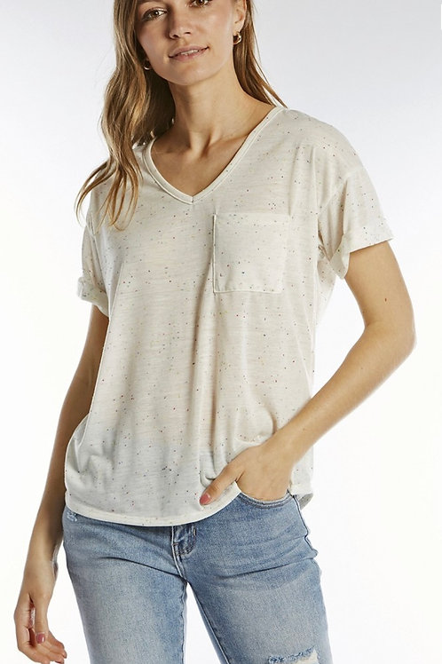 Relaxed Slim Fit Tee
