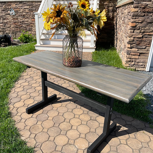 SALE REDUCTION Solid Butcher Block Desk/Table
