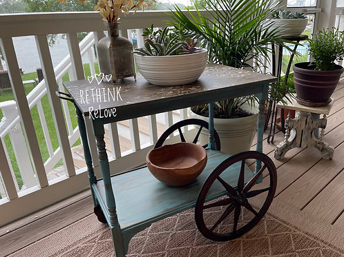Vintage Tea Cart by ReThink | ReLove