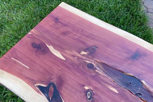 Red Cedar Live Edge Table