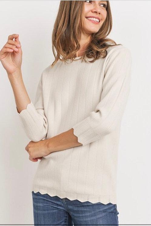 Soft Lightweight Knit Sweater