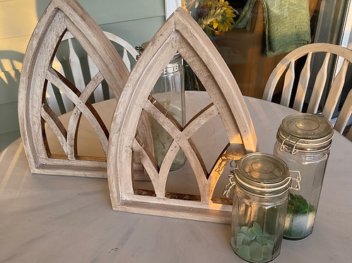 SOLD Shabby Cottage Architectural Wood Piece