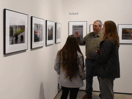 Michael Crowley holds photo gallery in Clausen Art gallery