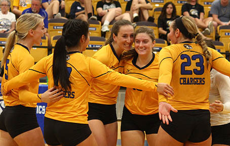 BCU Celebrates 50 Years of Volleyball on the Cliff