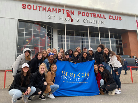 BCU Women's Soccer Travels to England over Spring Break