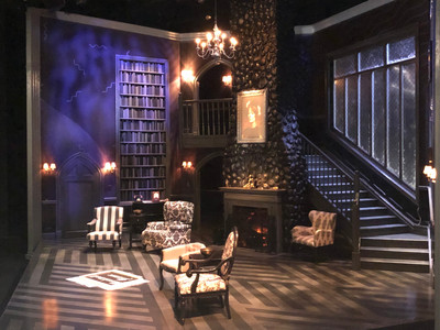 The set of The Mousetrap in Court Theatre.