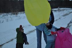 Kids preparing for launch!