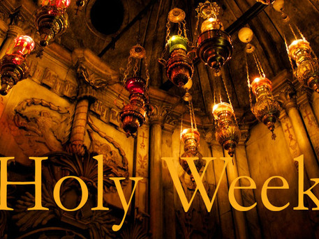 """Most Important Week in History"" - - by Rev. Weldon Bares"