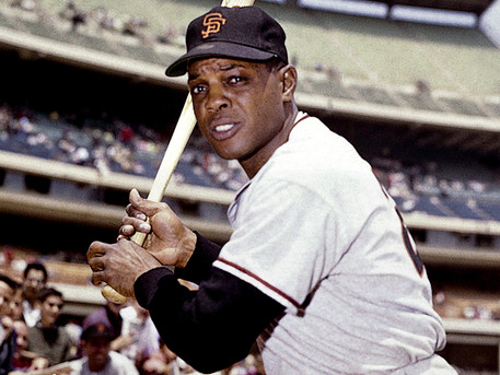 """""""Willie Mays, the Say-Hey Kid"""" - - by Rev. Weldon Bares"""