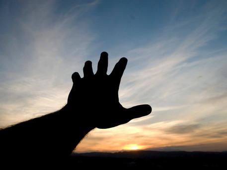 """Reach Up by Faith"" - - by Rev. Weldon Bares"