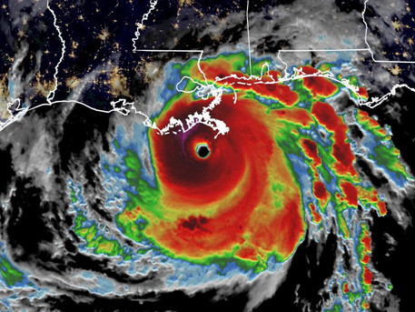 """Aftermath of Hurricane Ida"" - by Rev. Weldon Bares"