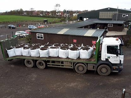 Loose Pick-Up Load Greenleaf Compost
