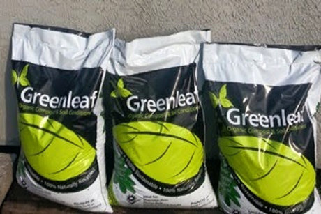 x3 40L Bags Greenleaf Compost & Soil Conditioner